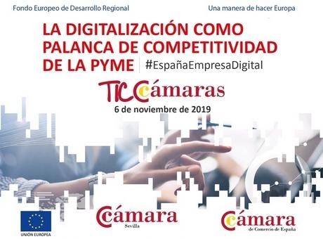 La digitalización como palanca de competitividad de la pyme.Sevilla.