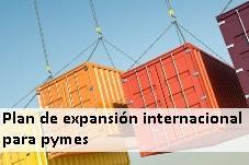 Plan de expansión internacional para Pymes