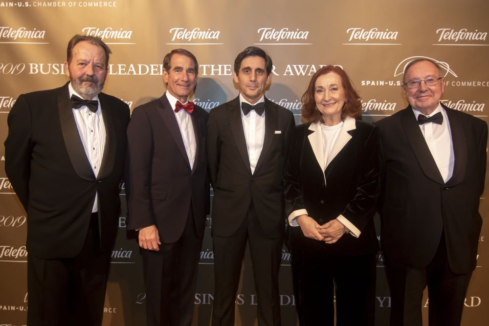 Jose Luis Bonet Gala Anual Camara Comercio Espana EEUU