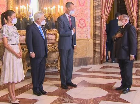 El presidente de Cámara de España asiste al almuerzo de honor con el Presidente de Chile