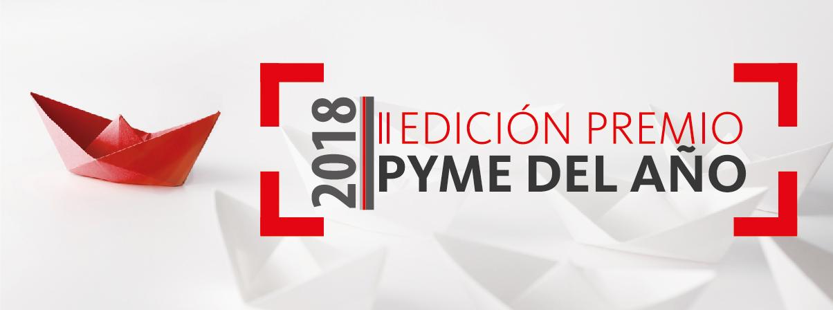 Éxito de inscritos en el Premio Pyme del Año 2018