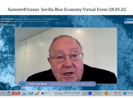 José Luis Bonet destaca el papel de las Cámaras en el desarrollo de la economía azul