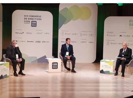 El presidente de la Cámara de España ha intervenido en el XIX Congreso de Directivos CEDE