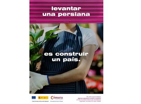 Industria y Cámara de España animan a consumir en el comercio de proximidad