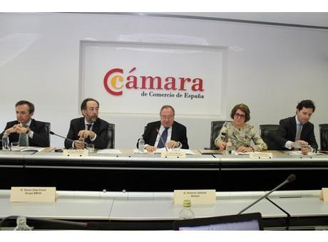 Comisión CCE presidida por Carlos López Blanco