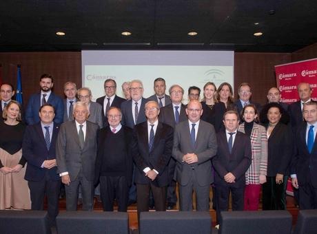 José Luis Bonet asiste a la constitución del Consejo Andaluz de Cámaras de Comercio