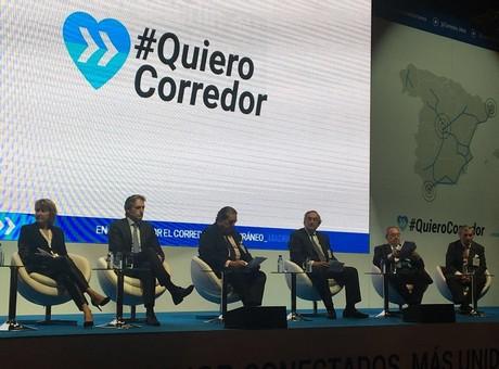 El Corredor Mediterráneo facilitaría la expansión de las exportaciones españolas, según José Luis Bonet