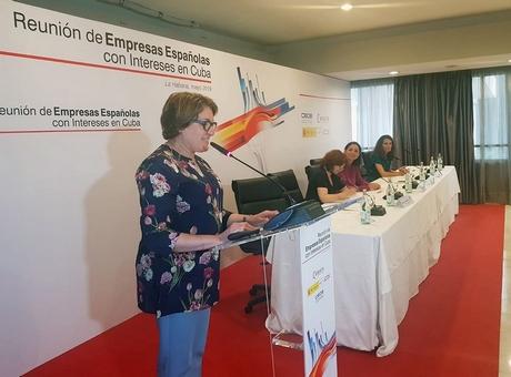 Encuentro empresarial en Cuba