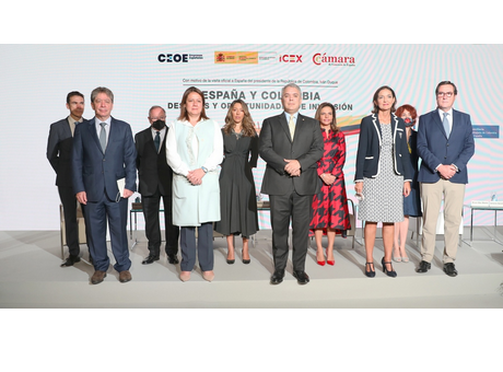 El presidente de Cámara de España participa en el encuentro empresarial España- Colombia; Desafíos y oportunidades de inversión
