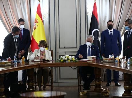 Cámara de España firma un Memorando de Entendimiento (MOU) con Libia para ampliar la cooperación económica.