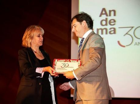La Cámara de España, premiada por Andema