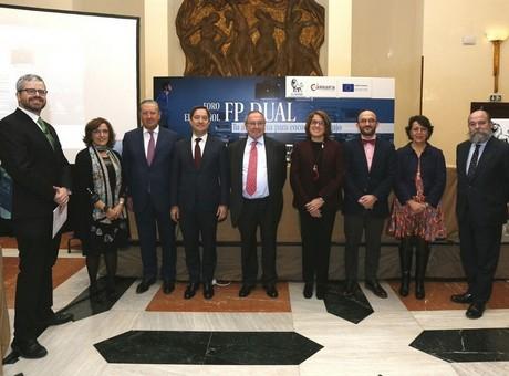 El secretario de Estado de Educación, Formación Profesional y Universidades defiende un Pacto de Estado para consolidar la FP Dual en España