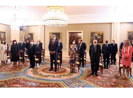 El presidente de Cámara de España asiste a la entrega del VII Premio Enrique Iglesias a la presidenta de Banco Santander, Ana Botín
