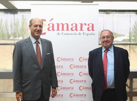 José Luis Bonet recibe al embajador de Italia en España, Riccardo Guariglia