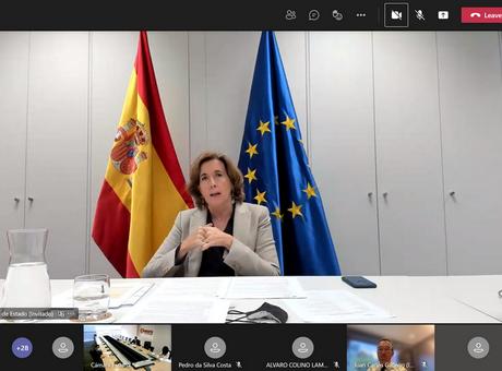 La secretaria de Estado de Economía y Apoyo a la Empresa presenta en la Cámara de España el paquete de ayudas directas a las empresas