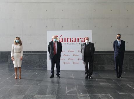 Josep Borrell participa en la constitución de la Comisión de Asuntos Europeos de la Cámara de Comercio de España