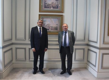 El presidente de la Cámara de España y la Fundación INCYDE se reúne con el Secretario General de la Organización Mundial del Turismo para preparar la cumbre de Barcelona