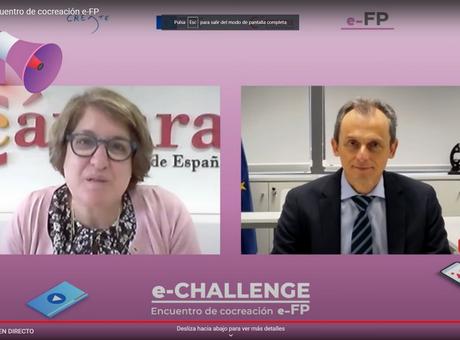 e-FP premia las soluciones más innovadoras propuestas por alumnos de FP en respuesta a los desafíos actuales de siete empresas