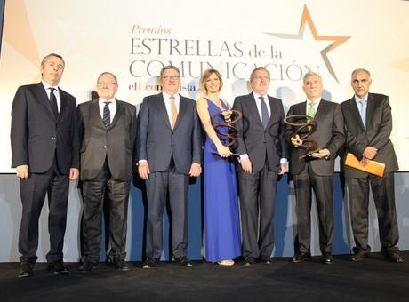 La Cámara de Comercio de España acogió en su sede la gala de entrega de los I Premios Estrella de la Comunicación del diario El Economista