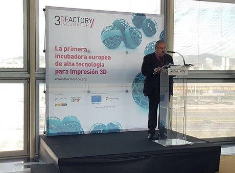 primera incubadora europea de proyectos empresariales de impresión 3d