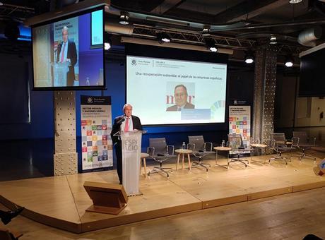 El presidente de Cámara de España destaca la colaboración público-privada como elemento clave para impulsar la Agenda 2030 y los ODS