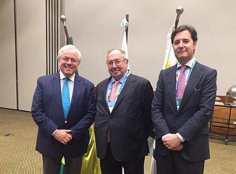 Julián Domínguez, José Luis Bonet, y Adolfo Díaz-Ambrona