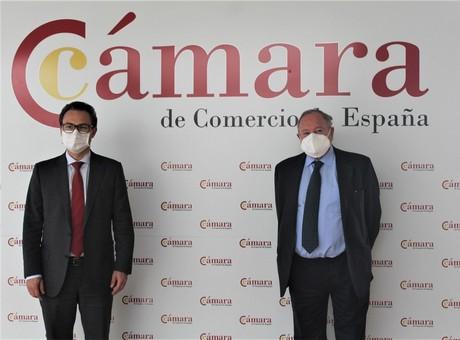 José Luis Bonet se reúne con el presidente de la Cámara de Comercio de Bogotá