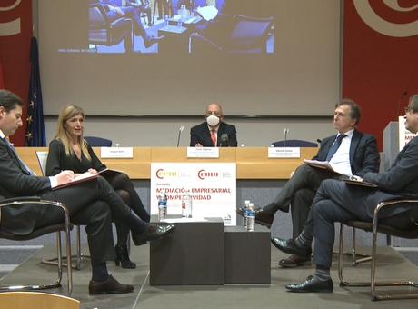 Jornada sobre Mediación Empresarial y Competitividad de Cámara de Navarra y CEM