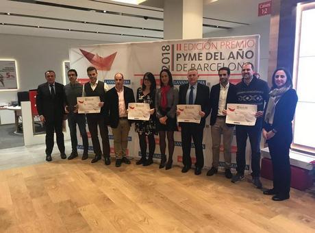 Voxel Media Pyme del año 2018 de Barcelona