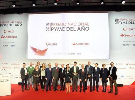 Funiglobal Development, de Zaragoza, gana el Premio Nacional Pyme del Año