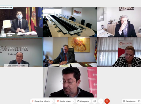 Los presidentes de las Cámaras de la Comunitat y de Cámara España se reúnen con Ximo Puig