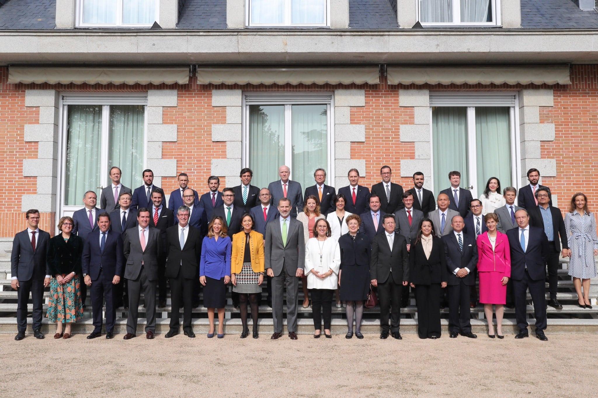 Audiencia Rey Foro Alianza Pacifico
