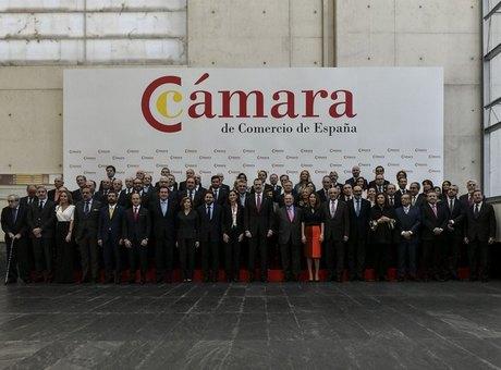 El presidente de la Cámara de Comercio España explica a SM el rey la acción cameral ante la crisis del COVID-19