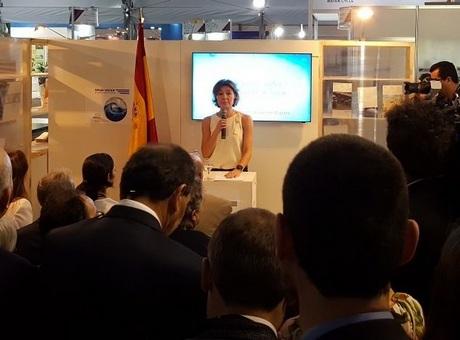 El presidente de la Comisión de Economía Circular de la Cámara de España, Josep Bagué, participa en el Foro Mundial del Agua en Brasilia